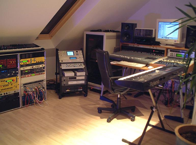 ホームスタジオ 音響機材設置