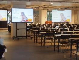 マッシュホールディングス様 (四谷/東京) 社内イベントホール 音響・映像システムプランニング・施工