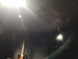 プライベートレコーディングスタジオ(草加市)通線作業/マイク設置工事