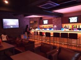 CAFE&BAR DAY`S様 (八柱/千葉) 新規店舗音響/映像システム施工