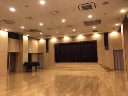 マダレナカノッサ幼稚園 様(世田谷/東京)体育館/ホールの音響映像設備不具合の点検、改修工事
