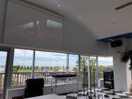 トラットリアJ マリーナ様(大洗/茨城県)新規レストラン音響・映像システムプランニング/施工
