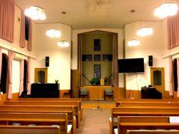 仙川キリスト教会様 (仙川/東京)音響システム改修工事