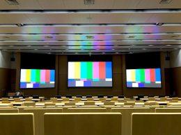 防衛研究所様(市谷/東京)映像・音響システム保守点検作業